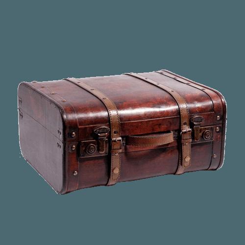 vintage suitcase repair